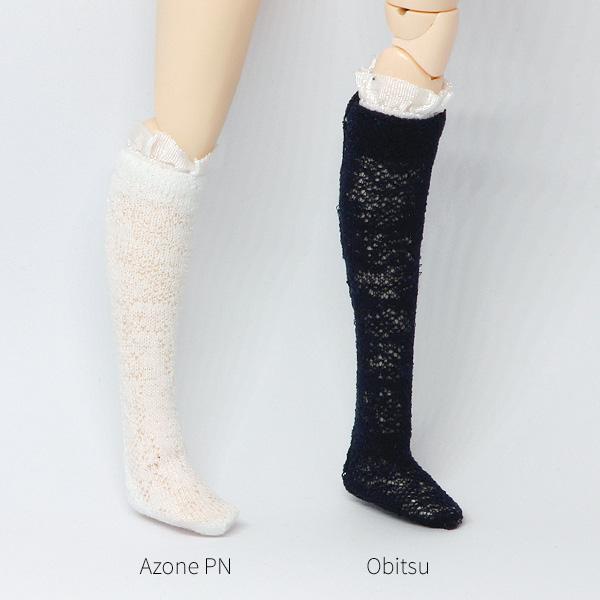 neue bilder von Gedanken an das billigste Kniestrümpfe mit Spitze für Pullip/Blythe