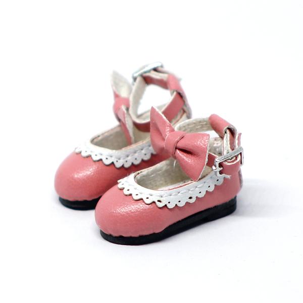 another chance b7e4d 4f9eb Pinke Schleifchen-Schuhe