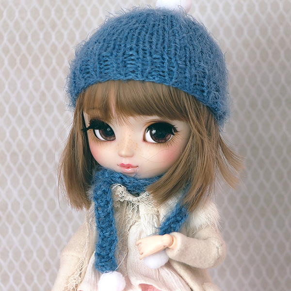 Handknitted Winter-Set #03 for Pullips