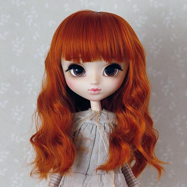 9-10 Medium wavy Wig - Carrot