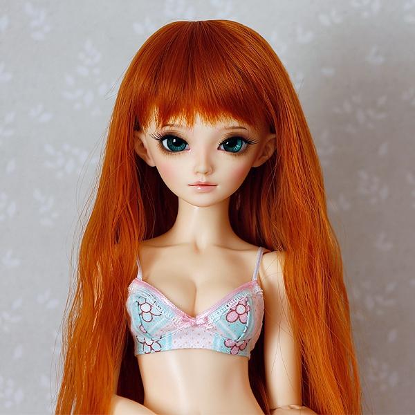 6-7 Long wavy Wig - Carrot