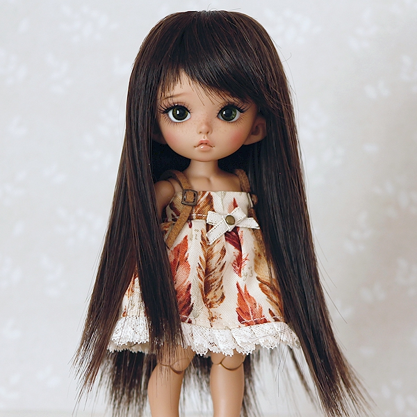 5-6 Long Wig - Natural Black