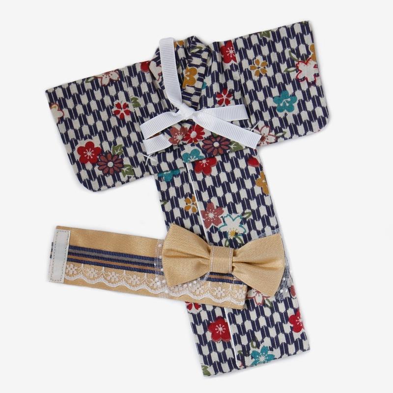 Yukata (Dark Flowers) for Pullip