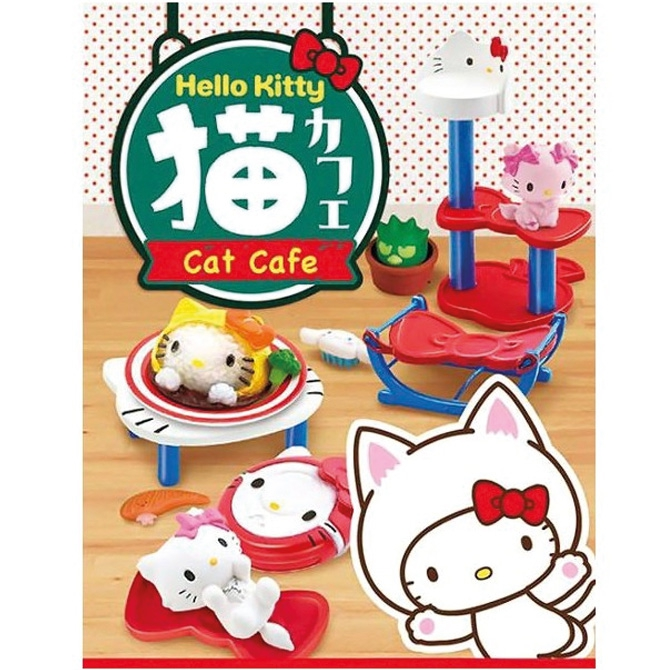 Hello Kitty Cat Cafe - Re-Ment Blind Box