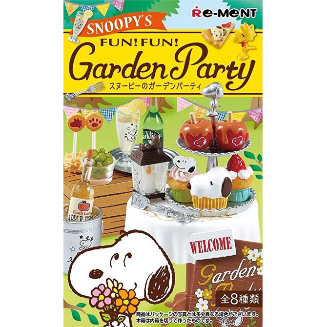 Snoopys Garden Party - Re-Ment Blind Box
