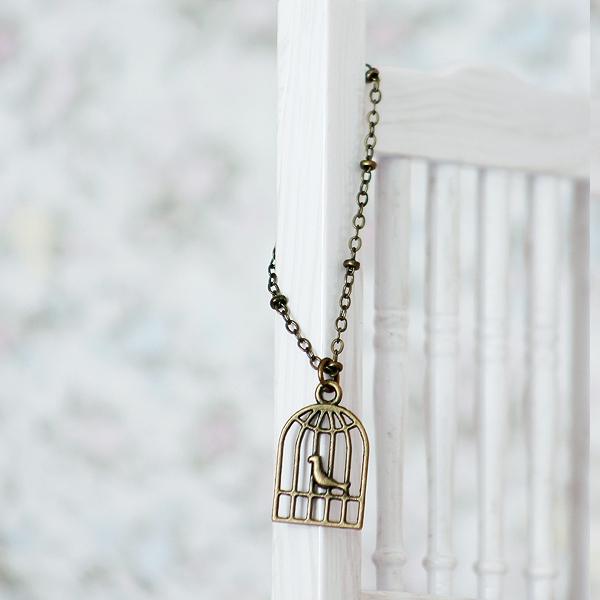 Necklace - Birdcage