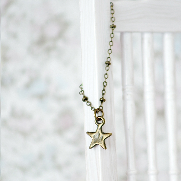 Necklace - Small Star