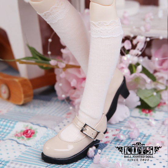 White Stockings with lace for MSD
