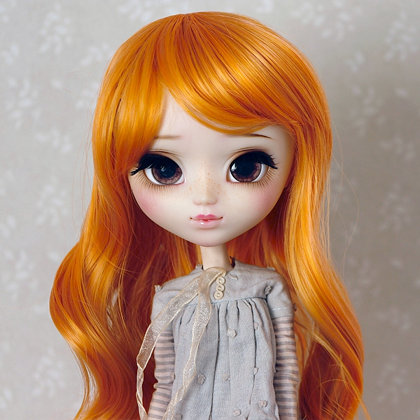 9-10 Medium curled Wig - Marmalade
