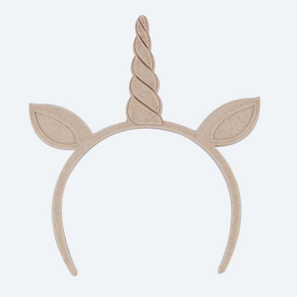 Headband 7-8 - Unicorn with ears