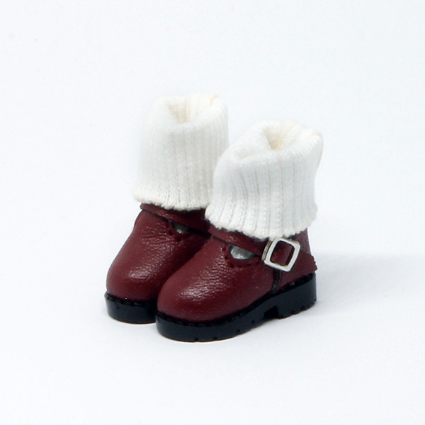 Red Boots with socks