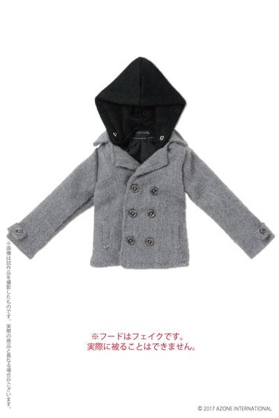 Grey Hooded Coat (Pure Neemo)