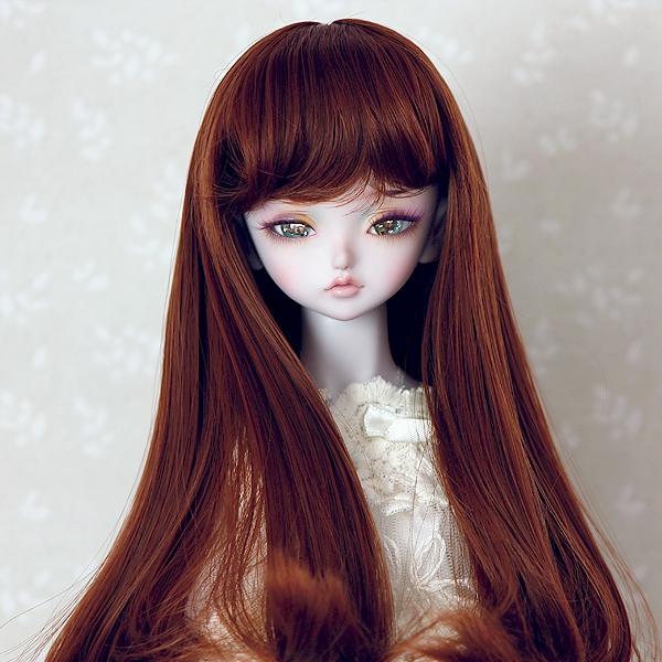 7-8 medium Wig - Soft Brown