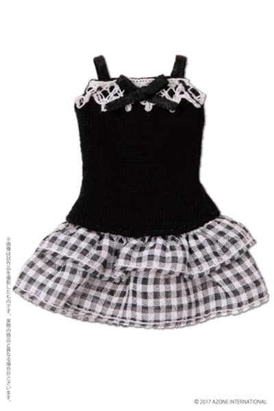 Camisole black One-Piece Dress (Picco Neemo 1/12)
