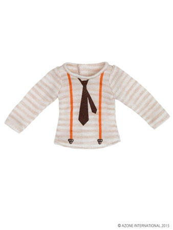 Shirt with printed necktie (Pure Neemo)