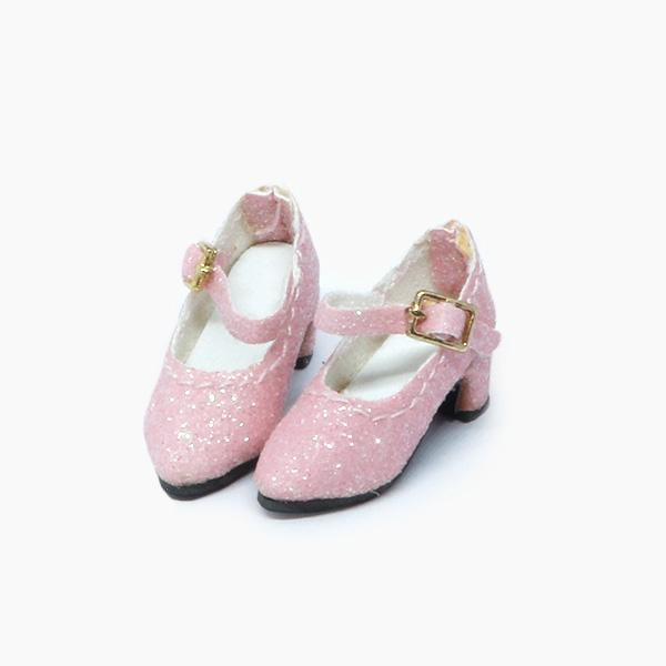 Pink Glitter-Pumps