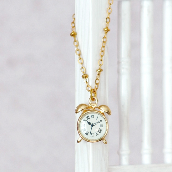 Necklace - Clock