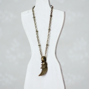 Necklace - Feather
