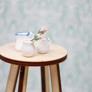 2 White Vases 1:12