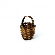 Dark Brown Basket, 1:12