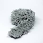 Handknitted Fluffy grey Scarf