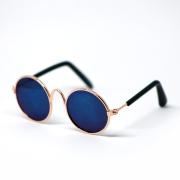 Retro Sunglasses Dark Blue für Pullip und Blythe