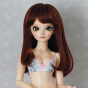 6-7 medium Wig - Soft Brown