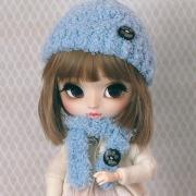 Handknitted Winter-Set #09 for Pullips