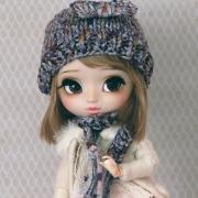 Handknitted Winter-Set #10 for Pullips