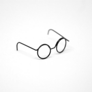 Round Glasses for Tiny Dolls and Azones