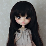 9-10 extra long wavy Wig - Soft Black