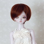7-8 short Wig - Soft Brown