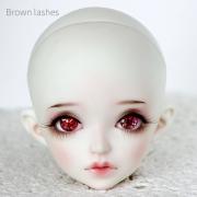 Brown Eyelashes for BJD