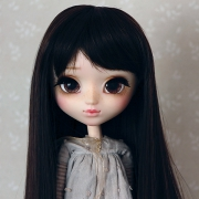 9-10 Long Wig - Natural Black