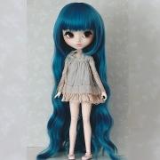 9-10 extra long wavy Wig - Milky Blond