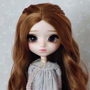 9-10 Medium Wig with small braids - Sienna