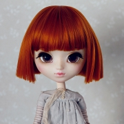 9-10 Short straight Wig - Carrot
