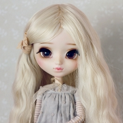 Brown Eyelashes for BJD