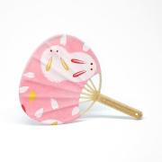 Japanese Fan Uchiwa (Bunny)
