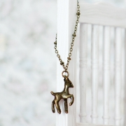 Necklace - Deer