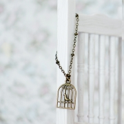 Necklace - Birdcage