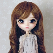 9-10 Medium curled Wig - Sienna