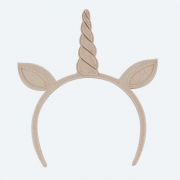 Headband 7-8 - Unicorn with ears