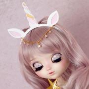Headband 8-9 - Unicorn with ears