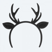 Headband 9-10 - Reindeer