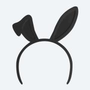Headband 9-10 - Bunny