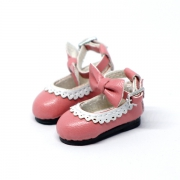 Pink Bowknot Shoes
