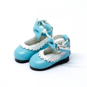 Blue Bowknot Shoes