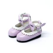 Purple Bowknot Shoes