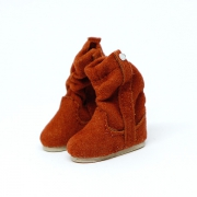 Brown fluffy Winterboots